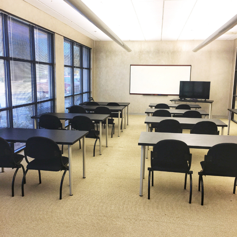 classroom meeting space